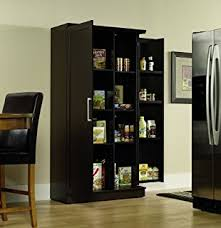 iohomes clyton dining buffet dark espresso sauder double door storage cabinet large dakota oak