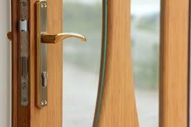 Home Front Door Lock Gold