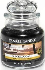 "<b>Ароматическая свеча</b> Yankee Candle ""Черный кокос / <b>Black</b> ..."