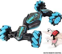 Leobtain Remote Control <b>Stunt Car</b>, Christmas <b>2.4G</b> 4WD Stunt RC ...