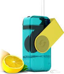 "<b>Бутылка</b> Asobu ""<b>Juicy drink box</b>"", цвет: желтый, 290 мл"