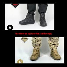<b>ZYTOYS LOWA ZEPHYR Tactical</b> Combat Boots Shoes Spot 1/6 ...