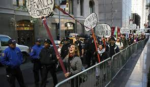 natasha lennard five years after the brooklyn bridge arrests new york ny 17 protesters affiliated occupy wall street demonstrate for