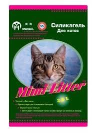 Впитывающий <b>наполнитель Mimi Litter Силикагель</b> Для котов 3.6 л
