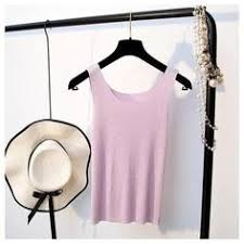 <b>GOPLUS</b> 2019 Spring Sexy <b>Crop</b> Top Knitted Tank top <b>Women</b> ...