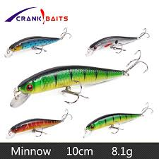 <b>CRANK BAITS</b> 10cm 8.1g Japan Hard <b>Bait Minnow Fishing</b> Lure ...