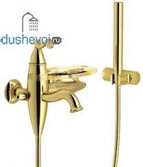 <b>Смеситель для ванны Nobili</b> Dubai DB00110GD, цена 34818 руб ...