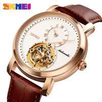 <b>SKMEI</b> Simple <b>Men's</b> Clock <b>Man Automatic Mechanical</b> Gear ...