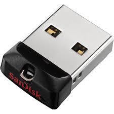 Купить <b>USB</b> Flash <b>накопитель</b> 16GB <b>SanDisk Cruzer Fit</b> (SDCZ33 ...