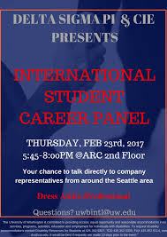 job search even tougher for international students  vinnakota has arranged the international student career panel from 5 45 p m 8 p m thursday feb 23 on the second floor of the activities and
