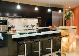and ultra stools modern chic mini bar design