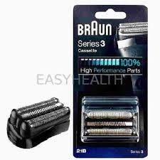 Braun <b>21B</b> Series 3 <b>Shaver Replacement Foil</b> and <b>Cutter</b> Cassette ...