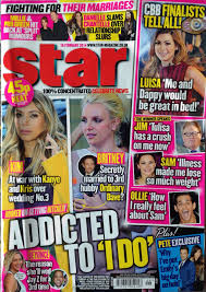 star magazine anja swan this year i gained a two week work placement at star magazine i was given