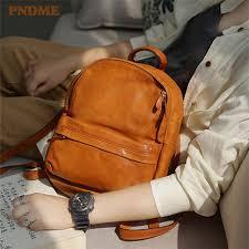 2019 <b>PNDME Fashion Vintage</b> High Quality Genuine Leather ...