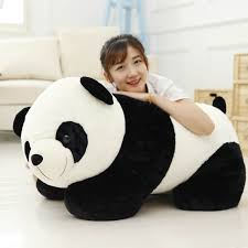 Online Shop <b>2019 New</b> 50cm <b>Cute</b> Big Giant Panda <b>Bear</b> Plush Toy ...