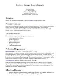 business resumes  resume sample format