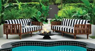 black and white tropez black and white patio furniture