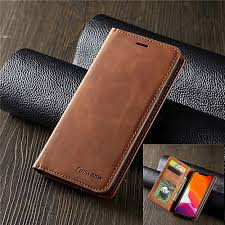 Luxury Leather Magnetic Flip Case for Samsung Galaxy S10 S10E ...