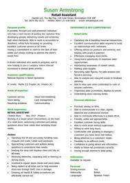 images about all about the resume on pinterest   cv template    interview winning example of how to write a retail assistant cv