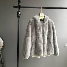 2018 whole <b>skin natural</b> real Rex fur coat <b>clothing</b> women's winter ...