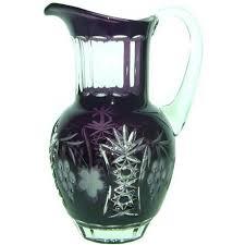 Купить <b>Кувшин для воды</b> Ajka <b>Crystal</b> Grape 1,2 л (арт. amethyst ...