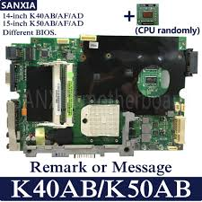 <b>KEFU K40AB</b> Laptop <b>motherboard for</b> ASUS <b>K40AB</b> K40AD K40AF ...