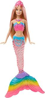 Barbie Dreamtopia Rainbow Lights Mermaid Doll ... - Amazon.com