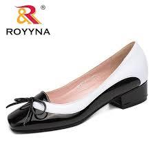 ROYYNA <b>New</b> Arrival Fashion <b>Style</b> Women Pumps <b>Butterfly</b>-<b>Knot</b> ...
