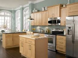 Dave Likes The Aqua Paint Color Findley U0026amp Myers Soho Maple  Kitchen Cabinets  S