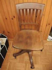 office desk side chair arts crafts antique b l marble mission wood arts crafts home office