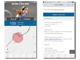 gallery mobile apps for making job hunting and networking 4 dice careers this job search app