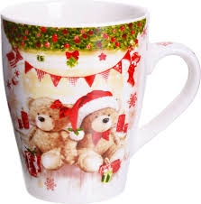 <b>Кружка</b> Loraine Merry Christmas, 28460, <b>340 мл</b>