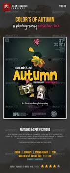 17 best images about print templates fonts flyers color s of autumn photography poster