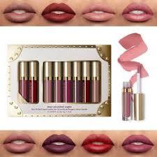 8Pcs/Set Matte Shimmer Liquid Lipstick Waterproof Long ... - Vova