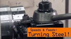 <b>Speeds</b> & Feeds for <b>Steel</b> on the <b>Lathe</b>! WW171 - YouTube