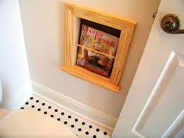magazine rack wall mount:  elegant beautifying the room with wall mounted magazine rack home decor blog also bathroom magazine rack