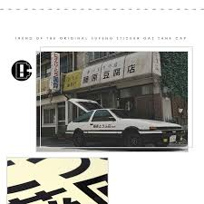 <b>1</b> Pcs/<b>1 Pair Car</b> Sticker JDM Japanese Kanji Initial D Drift Turbo ...