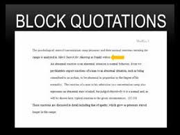 APA Long Quotes in Word        YouTube Writing A Research Paper