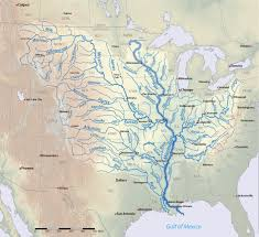map list of longest rivers of the united states main stem us river pictures