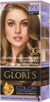 «<b>Стойкая крем-краска для</b> волос (2 применения) Glori`s 3.6 ...