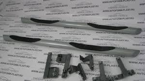 Защита <b>порогов</b> Lada X Ray с <b>проступью Ø76</b> мм(ППК)(арт.3417 ...