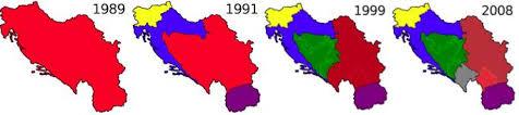 Αποτέλεσμα εικόνας για διαλυση γιουγκοσλαβιας
