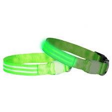 DOGlite LED Collar Small (<b>33</b>-<b>43cm</b>) Green Glow
