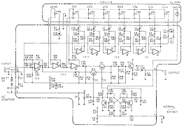 boss ge  equalizer guitar pedal schematic diagramschematic diagram of ge  equalizer pedal
