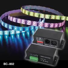 bc 802 dc5v dc24v dmx512 to spi ttl convertor decoder output signal 6803 1809 8806 9813 3001 2801 as you choses data decoder