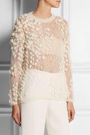 <b>DELPOZO</b> mohair sweater f/w 14 - great knitting idea! Insiration for ...