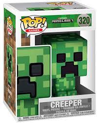 Купить <b>Фигурка Funko POP</b>! Vinyl: Games: Minecraft Creeper ...