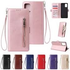 Zipper Strap Leather Flip Magnetic Case For Galaxy A50 A70 ... - Vova