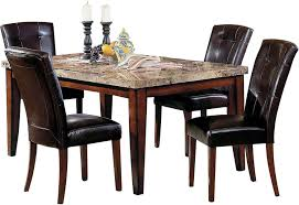 The Brick Dining Room Furniture Montibello Formal 5 Piece Dining Package The Brick