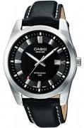<b>Часы Casio</b> (Касио) с кожаным ремешком - выгодно, стильно ...